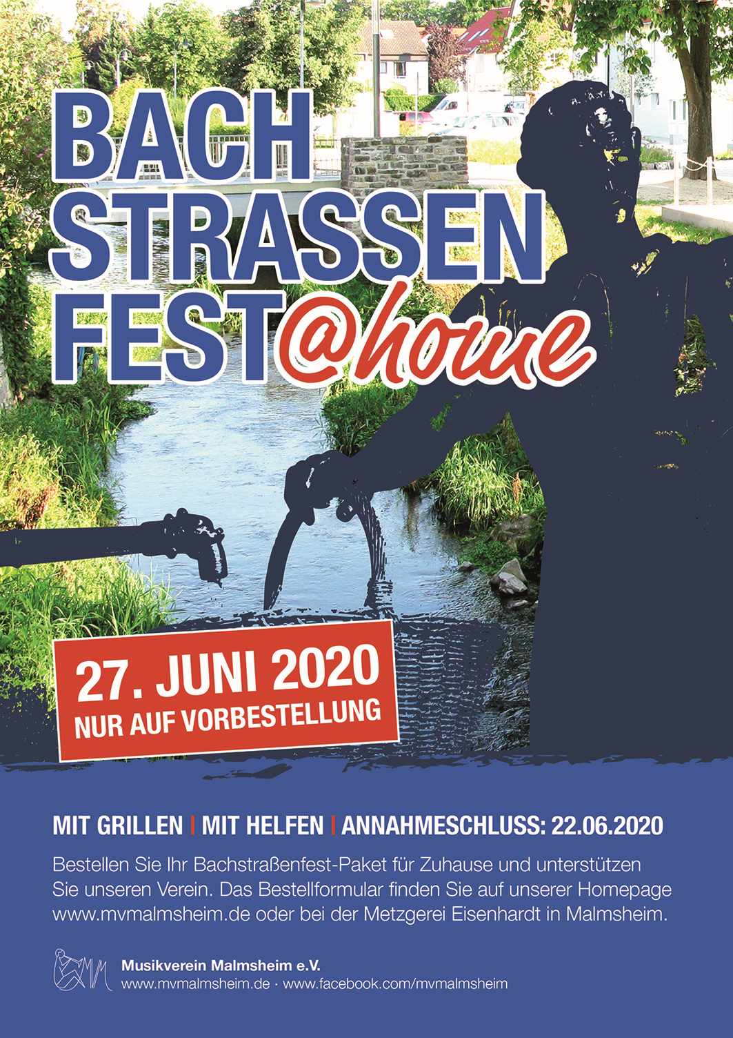 Flyer Bachstrassenfest 2020 lo